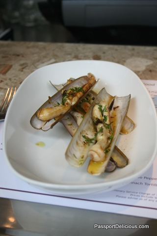Barrafina Razor Clams