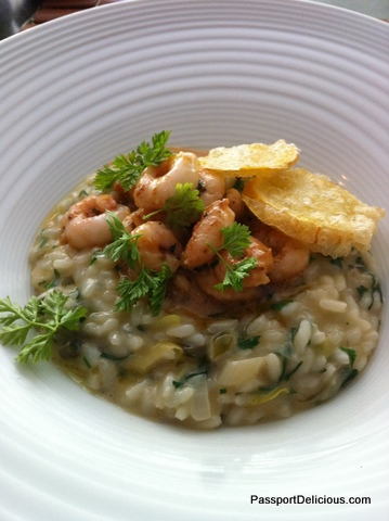 Risotto at Naha