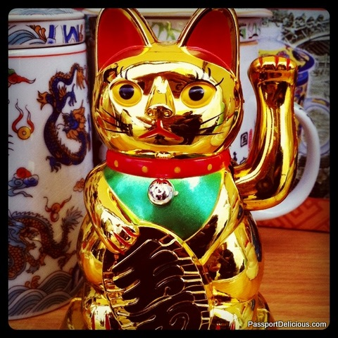 Lucky Cat at the Dragon Boat Races