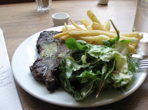 Clerkenwell kitchen steak