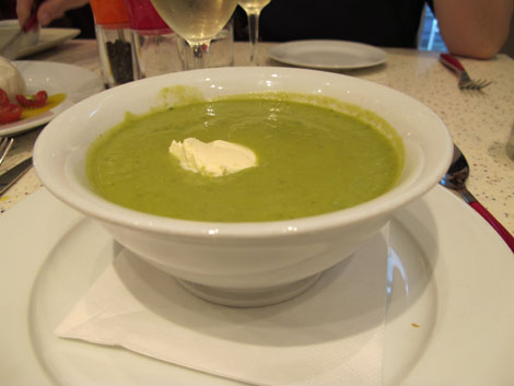 Pea soup more
