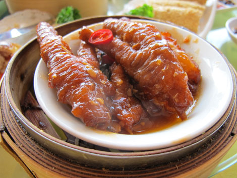Lotus chicken feet